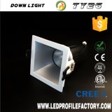 Ty26 Blendschutzquadrat vertiefte LED Downlight