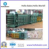 Los desechos de papel horizontal automática máquina de compresión con CE