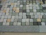 G684/China de granito negro/Negro basalto/adoquines de granito y piedra natural/guijarros Granito/pavimentadora