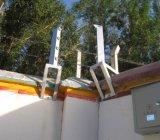 Xd-B500d Sistemas de intrusão de alarme de perímetro exterior dos sistemas de segurança de laser