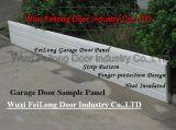 Painel da porta de garagem --- Isolamento, Seção Transversal resistente com antiesmagamento