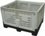 plástico 1200X800X810 que dobra a caixa plástica e a caixa para a fruta e verdura