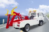 Sinotruk HOWO 300HP 50t 360度の回転レッカー車クレーン