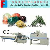 Macchina automatica di imballaggio con involucro termocontrattile del cetriolo