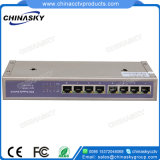 8つのポート完全なギガビットPoe力のネットワークスイッチ(POE0710-3)