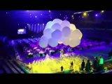 2018 neue populärste aufblasbare LED Wolke für Ereignis