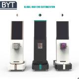 Sec tourner le kiosque d'écran tactile LCD de configuration personnalisée