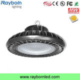 150watt lampada della baia di induzione del UFO LED alta per illuminazione del magazzino
