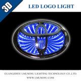 Firmenzeichen-Abzeichen-Licht des Lmusonu Automobil-Auto-3D LED für Toyota