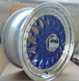 Bordas de alumínio da roda da liga do carro
