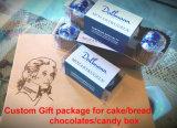 Rectángulo de regalo de encargo de los PP para los chocolates (empaquetado del caramelo)
