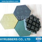 リサイクルされたゴム製パン粉によって着色されるゴム製タイル、ゴム製床タイル、ゴム製マット
