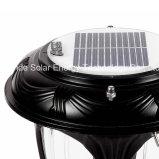 Schwarze Qualitäts-Solarpfosten-Licht