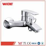 Faucet de bronze moderno do dissipador do banho do banheiro do cromo de largamente