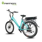 Señora Easy Ride Motor Ebikes del freno 250W del pedal de Aimos