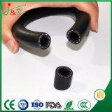 Manguera translúcida de la bomba de aire de la categoría alimenticia/del tubo de goma del silicón médico