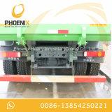 Ribaltatore dei pneumatici usato buona condizione 8X4 dell'autocarro con cassone ribaltabile di prezzi bassi HOWO 12 per il Dott. Congo