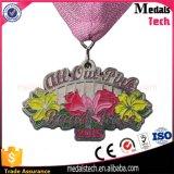 De goedkope Douane kent de Zachte Medailles van de Sporten van de Marathon van het Metaal van het Email Lopende toe