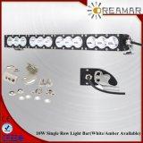 barre simple combinée d'éclairage LED de rangée de 22inch 120W