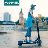 Koowheelの小型折られたリチウム電池の移動性の電気蹴りのスクーター
