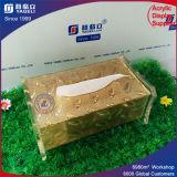 Yageliの工場カスタム高品質のアクリルのティッシュボックス