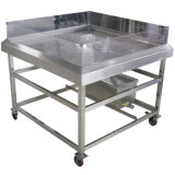 Seafood Restaurant Display Stand con deflector (SKZS-01)