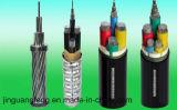 Кабель алюминиевого сплава стальной ленты оболочки PVC изоляции PVC Armored