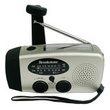 Rádio com Dínamo Solar Lanterna /Solar Manivela Radio
