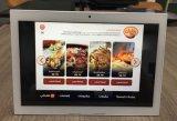 Screen-Digital E-Menü Gaststätte Selbst-Ordnung Android-Tablette