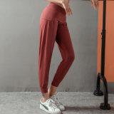As mulheres de alta qualidade a ioga Perneiras com pés rótulo privado personalizado calça Fitness Sport collants