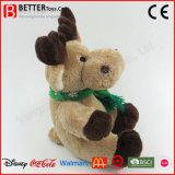 Don animal en peluche Soft jouet jouet en peluche de rennes de Noël pour les enfants