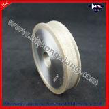 Rodas de diamante de borda de diamante / roda de borda trapezoidal para máquina CNC