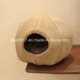 Casa luxuosa da base da forma do gato do cão dos produtos do animal de estimação da base do cão do gato da base por atacado do animal de estimação