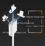 iPhone를 위한 가장 새로운 자석 케이블 충전기 또는 인조 인간 또는 유형 C, 1에서 3