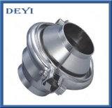 Válvula de retención de tipo brida sanitaria de acero inoxidable
