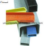 Tubo rettangolare basso della plastica di rinforzo vetroresina di manutenzione