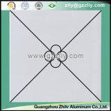 Mattonelle di alluminio del soffitto del metallo del rivestimento del rullo del fornitore per la decorazione interna