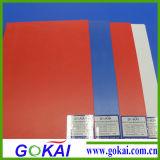 Panneau de mousse de PVC de couleur pour le signe extérieur