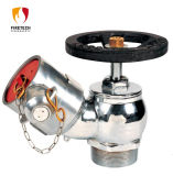 消火ホースまたは給水栓の着陸弁の斜めのタイプ