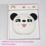 cartón del diseño del oso de la batería de la potencia 12000mAh