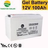 12V 100Ah Batterie au gel de l'énergie solaire à cycle profond pour onduleur
