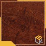 Grano de madera de roble rojo papel decorativo para muebles