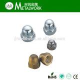 Écrou borgne Hex d'Acron d'acier inoxydable de SS304 SS316 (DIN1587)