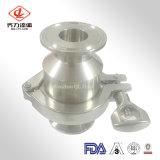 Valvole di ritenuta premute sanitarie dell'acciaio inossidabile di prezzi di fabbrica 304/304L/316/316L