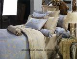 Conjunto de lujo del lecho de la boda del nuevo del diseño del hogar algodón de la materia textil 100