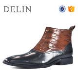 Les hommes Chaussures en cuir véritable robe de luxe pour les hommes d'amorçage