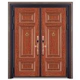 赤い青銅色の金属のドアデザインイタリアのステンレス鋼の装甲ドア