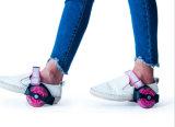 Justierbare blinkende Rollen-Rad-Rochen-Schuhe