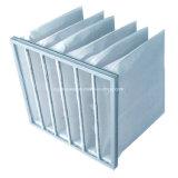 Waschbare Beutel-Luftfilter der synthetischen Faser-Merv9 für Ventilation