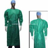 Nonwoven desechables batas quirúrgicas de aislamiento en el Hospital